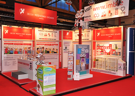 Irish Medicines Board Exhibition Photo