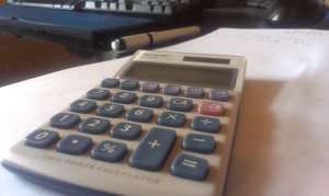 image of calculator - content marketing for accountants